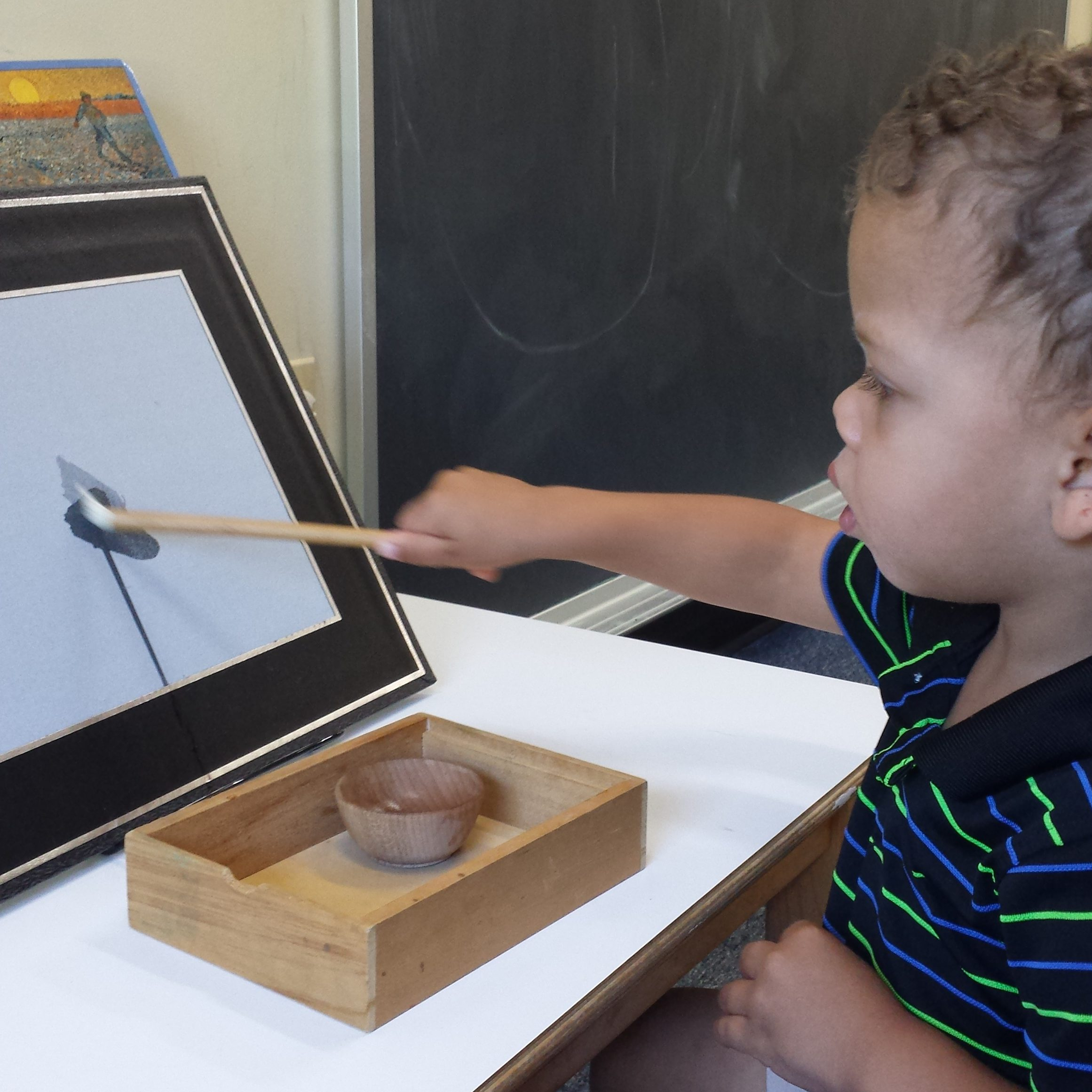 Art in the Toddler Classroom