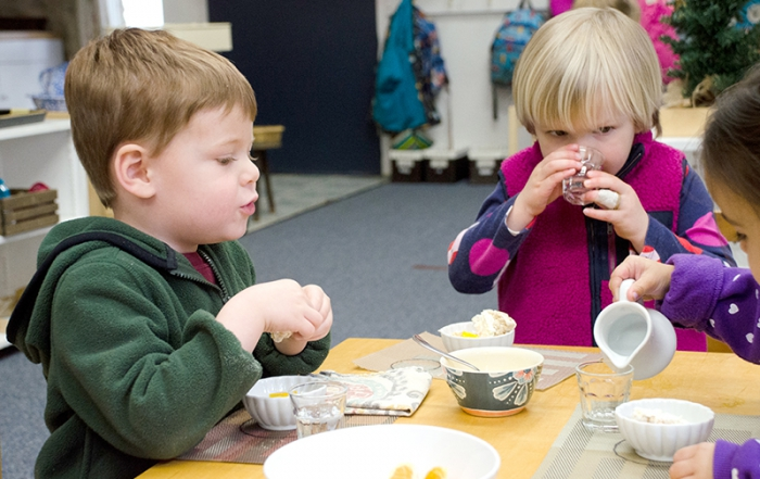 Developing Oral Language - Greenspring Montessori School