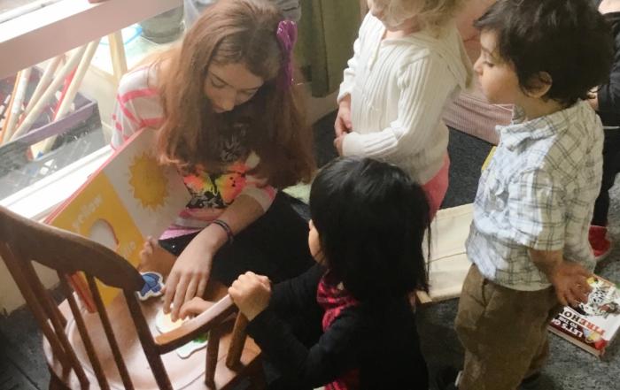 Spanish Read Aloud Day - Greenspring Montessori School