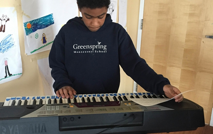 Music Class - Greenspring Montessori School