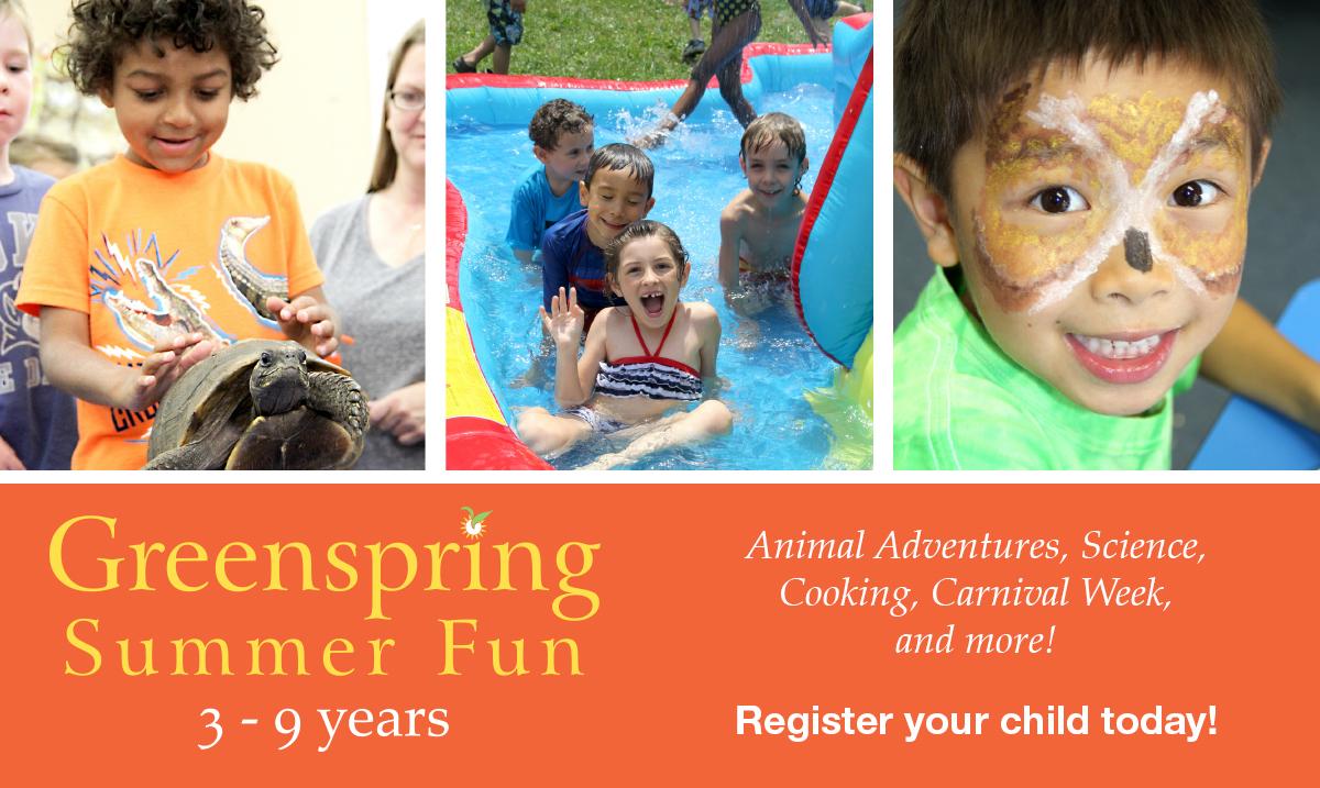 2017 Summer Fun at Greenspring Montessori School
