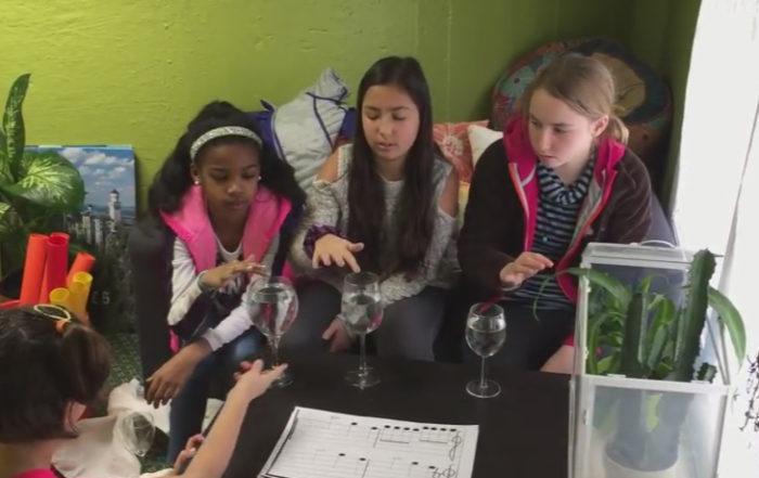 Making Music Using Water Glasses - Elementary Music