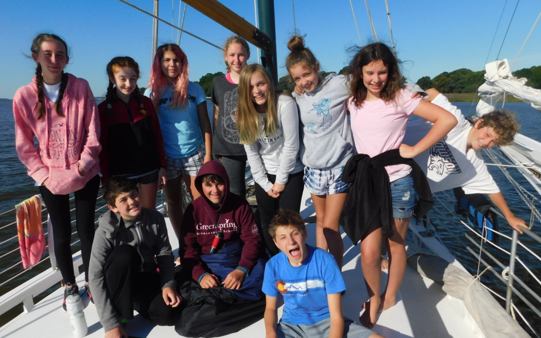 Adolescents Learn Team Building on Week-long Retreat