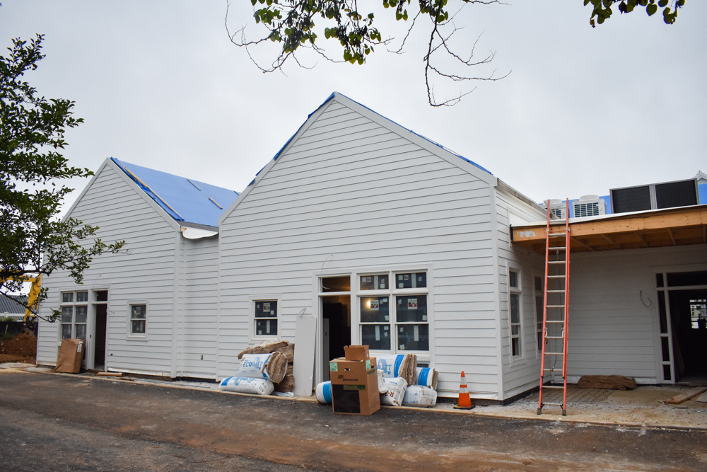 August Building Project Update