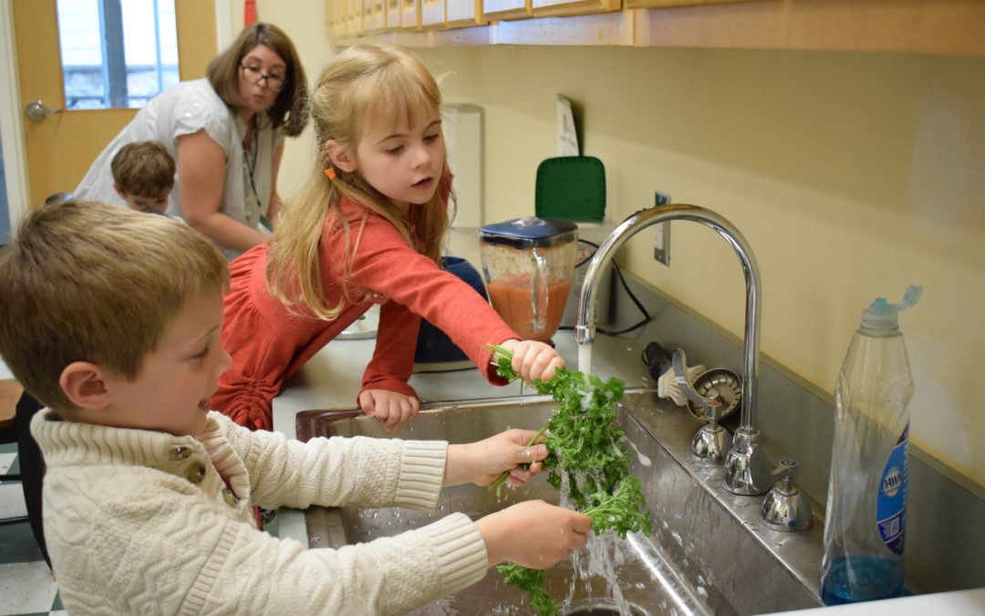 Cooking in the Montessori Classroom