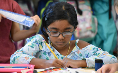 How Montessori Students Learn Spelling in Elementary