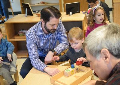 Take Your Parent to School Day - Greenspring Montessori School-10