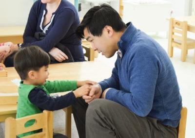 Take Your Parent to School Day - Greenspring Montessori School-12