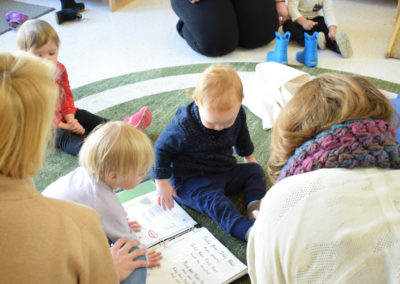 Take Your Parent to School Day - Greenspring Montessori School-13