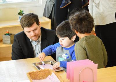 Take Your Parent to School Day - Greenspring Montessori School-2