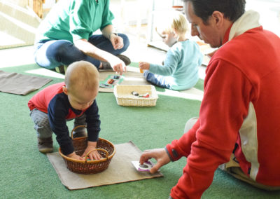 Take Your Parent to School Day - Greenspring Montessori School-5