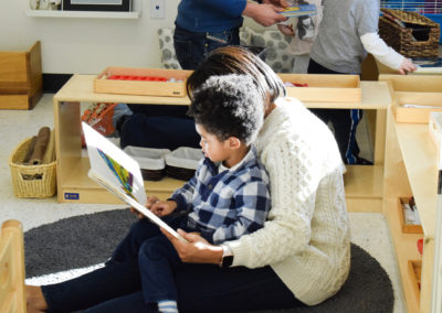 Take Your Parent to School Day - Greenspring Montessori School-7
