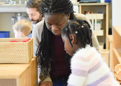 Take Your Parent to School Day - Greenspring Montessori School-8